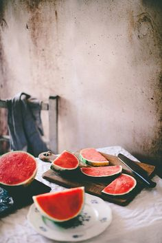 Food Inspiration Watermelon: a summer's favorite Food Photography Styling, Food Styling, Life Photography, I Need Vitamin Sea, Dessert Aux Fruits, Fruits And Veggies, Vegetables, Food Inspiration, Motivation Inspiration
