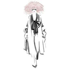 Valentino Haute Couture Spring18 . . . . . . . . #sandrasuy #fashionillustration #fashion #illustration #hautecouture #valentino #paris#