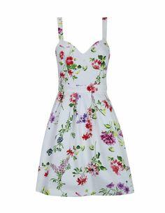 Vestido estampado flores  SHOP ONLINE BLANCO.COM