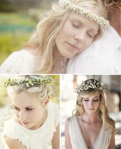 30 Beautiful Boho Flower Crowns + DIY Tutorials | Bridal Musings | A Chic and Unique Wedding Blog My Flower Girls WILL Wear these!!!