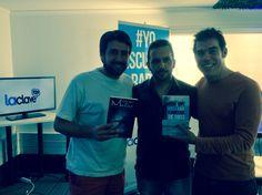 Promocionando el libro