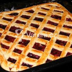 Fotografie receptu: Mřížkový linecký koláč