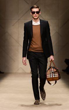 Burberry A/W13 Menswear show