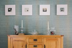 Feature wall with Harlequin wallpaper