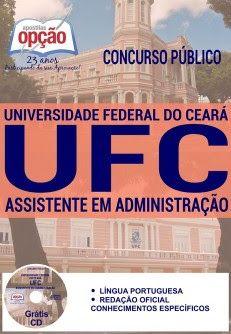 Newsapostilas Apostila Concurso Ufc 2016 Atualizada