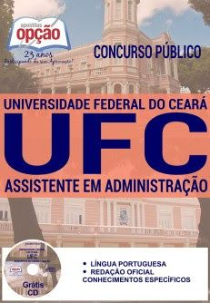 NewsApostilas : Apostila Concurso UFC 2016 (ATUALIZADA)