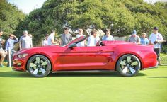 2016 Ford Mustang Galpin Rocket Speedster: Fisker's Dream Mustang Loses Its Lid - Photo Gallery of Auto Show from Car and Driver - Car Images - Car and Driver