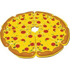 8 Piece Complete Pizza Pool Float Set