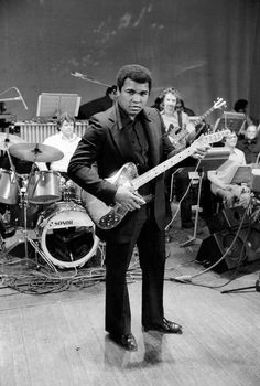 Muhammad Ali. Music man.