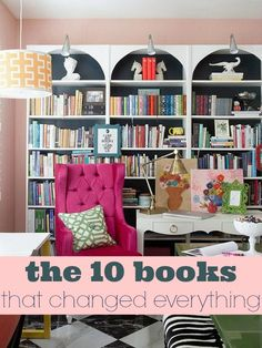 So much of my personal growth and change has been influenced by the books I've read. These are the 10 that have changed me most. Maybe you'll find some inspiration here for your own journey. via lifeingrace