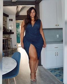 Thick Girl Fashion, Plus Size Fashion For Women, Curvy Women Fashion, Plus Size Party Dresses, Plus Size Outfits, Erica Lauren, Look Body, Curvy Girl Outfits, Curvy Plus Size