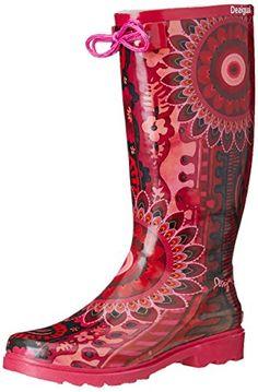 Femmes Bottes En Caoutchouc Bottes Bottes De Pluie Multicolores Taille 39 41 40