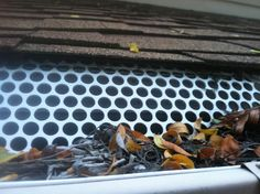 19 best gutter guard photos images on pinterest gutter guards this shows a diy do it yourself gutter guard you may purchase at solutioingenieria Gallery
