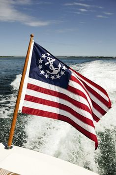 Putting this anchor flag on my Wakeboarding boat whenever I decide to get one!! It's predetermined
