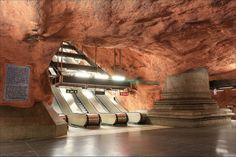Places of Your Dreams Which Really Exists - Stockholm Metro Station, Sweden