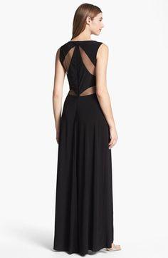 Xscape dress sleeveless illusion beaded sweetheart gown dresses