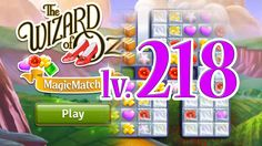 Wizard of Oz: Magic Match - Level 218 (1080/60fps)