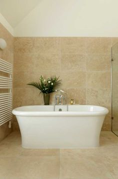 Liven up your bathroom with some foliage.