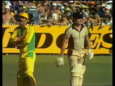 """The most disgraceful moment in the history of cricket. The """"underarm"""" bowling incident took place on 1 February 1981 and was an embarrassment to Australian sport Richie Benaud, History Of Cricket, World Series, Number One, Physical Activities, Bowling, Underarm, Good Times, February"""