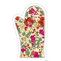 Liberty of London patter, Oven Mitt Step-by-step tutorial