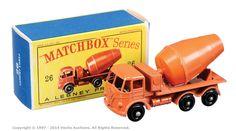 Matchbox Regular Wheels No.26b Foden Cement Mixer.