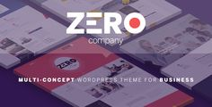 Zero - Corporate Creative WordPress Theme Zero is a creative responsive WordPress theme for Business, Blog, Magazine. The theme comes with 8 amazing pre-built sites, each pre-built site has different design concept and style. It also supports best eCommerce wordpress platform – WooCommerce.  SAVE YOU $53 – The WordPress theme includes the best selling slider plugin – Slider Revolution (save you $19) and the amazing WordPress builder – Visual Composer (save you $34).