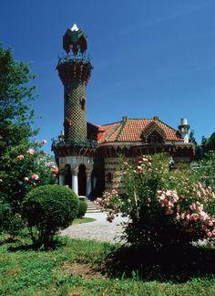 El Capricho de Gaudi, Comillas, Cantabria, Spain