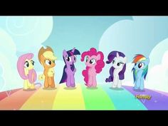 Best Friends Until the End of TIme - MLP FIM - Mane 6 (song)[HD] - YouTube