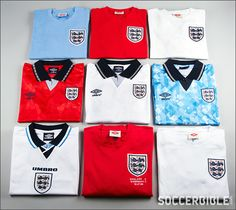 Stitch By Stitch: Umbro's England Archive Collection : Football Apparel : Soccer Bible