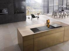 Modern Kitchen Design, Interior Design Kitchen, Modern Architecture House, Interior Architecture, Michigan Lake House, Big Houses, Küchen Design, Luxury Interior, New Kitchen