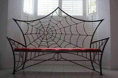 Spider Web Bench