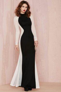 Nasty gal ♥ #nastygal #dresses #black #white