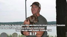 Third and fourth victims of the attack on US consulate in Libya identified; both were former Navy SEALs.  God Speed  Glen Doherty and Tyrone Woods, R.I.P.