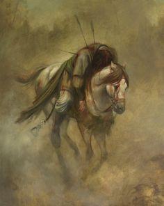 The last ride home Karbala Iraq, Imam Hussain Karbala, Battle Of Karbala, Imam Hussain Wallpapers, Ibn Ali, Hazrat Ali, Oriental, Anime Muslim, Islamic Paintings