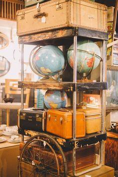 Globes At Bella Patina   West Bottoms, Kansas City Missouri