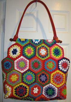 Ravelry: Retro Summer Bag pattern by Pam Grushkin