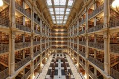 Biblioteca George Peabody, Baltimore, Estados Unidos        © Matthew Petroff / Flickr (Creative Commons)
