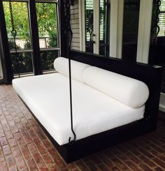 "Porch Swing: The ""Peninsula"" Swing Bed -- FREE SHIPPING! (Bedswing)"