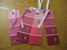 Heart Bookmarks @ toddler-friendly craft table