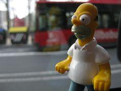 Pesadilla en el cuarto de baño. Un día me desperté y me vi calvo y gordo. Mi nueva etapa de padre me transformaba en Homer!