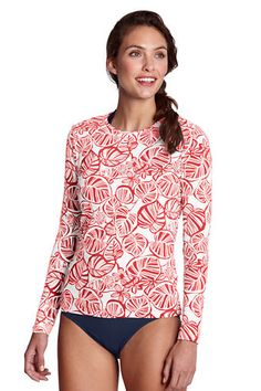 Swim Shirt from Lands' End - wear in water for sun protection - it works!
