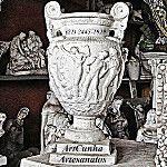 Vaso / Anfora Greco-Romano, 30 cm. Tel (21) 2445-1929 #Artesanato #Decoracao #Vaso #Vasos #Decorativo #Arte #Gesso #Grecia #Greece #Grego #Grega #Greek #Roma #Romana #Romano #Art #Artes #Anfora #Pitcher #Vase #Rio #RioDeJaneiro #Brasil #Brazil
