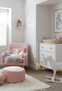 Such a cute nursery for a little girl and the rocking horse is . Such a sweet nursery for a little Nursery Dresser, Nursery Room, Nursery Decor, Horse Nursery, Nursery Ideas, Bedroom Decor, Themed Nursery, Baby Bedroom, Baby Room Decor