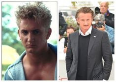He starred in Taps in but that was only the beginning for Penn. He has gone on to star in many movies and has won two Oscars for those roles. While his looks may be questionable with that mustache, his career is going strong as an A-list actor. Cleft Chin, Celebrities Then And Now, Sean Penn, Academy Award Winners, Child Actors, Cherubs, Aging Gracefully, Film Director, Taps