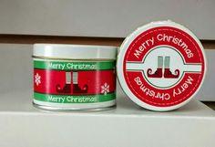 Personaliza tus regalos navideños, vela de 100g a 38.00 pesos