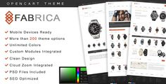 Fabrica - OpenCart Premium Theme