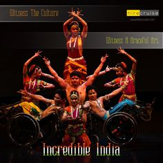Art is graceful. Witness this culture only in India!!! #ReturnToIndia #HireCruise #ItHappensOnlyInIndia