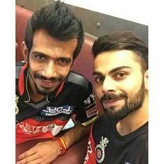 Virat with chahal