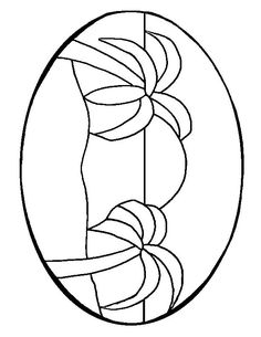 ★ Stained Glass Patterns for FREE ★ glass pattern 187 ★