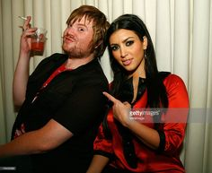 Kim Kardashian and guest attend a fashion event for D'Amore by Marceau at Tangerine Lounge and Nightclub on August 2007 in Las Vegas, Nevada. Kim K Style, 2017 Photos, Night Club, Front Row, Kim Kardashian, Women Wear, Spring Summer, Nevada, Stock Photos